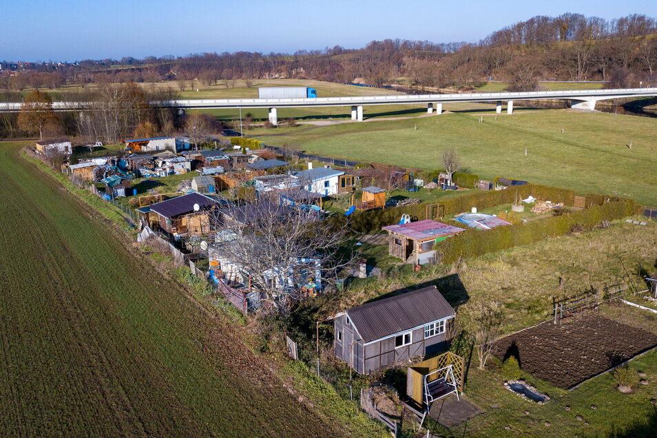 """Die Gartengruppe """"Aue"""" in Leisnig-Tragnitz wurde im vergangenen Jahr mehrfach von einem Dieb heimgesucht."""