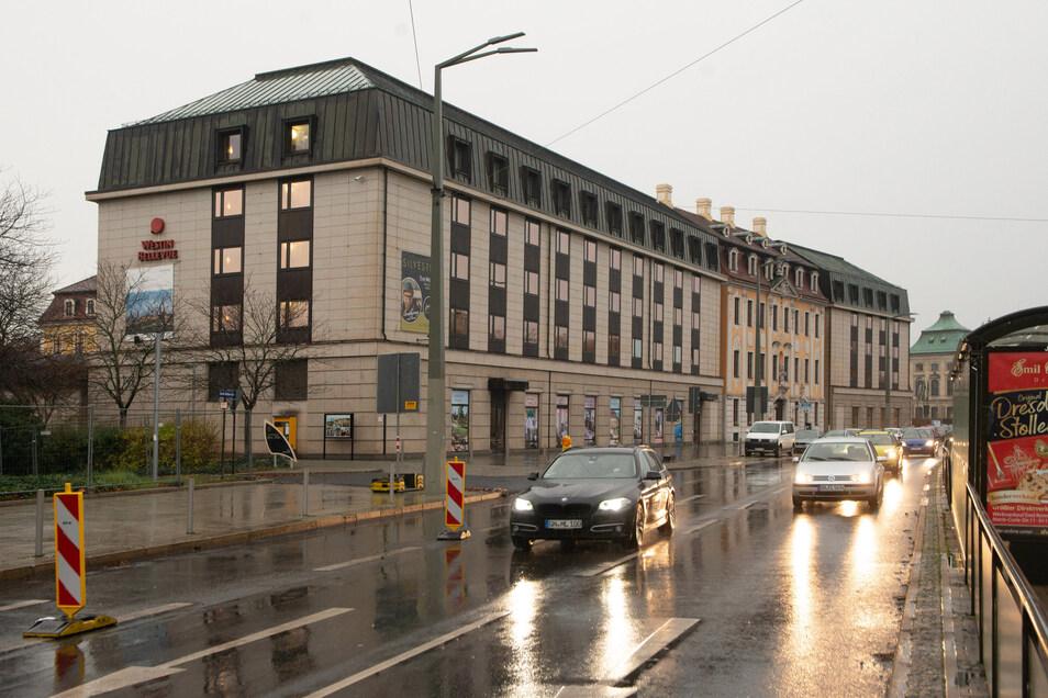 Das Hotel Westin Bellevue an der Großen Meißner Straße trägt bald statt Westin den Namen Bilderberg.