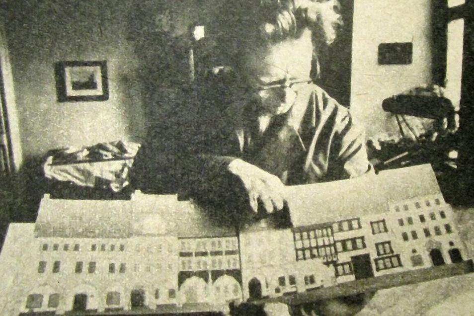 Ein Mann voller Pläne für die Zukunft der Stadt: Horst Kranich