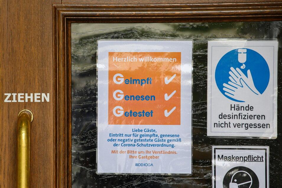 Die 3-G-Regeln gelten auch in der nächsten Woche im Landkreis Görlitz.