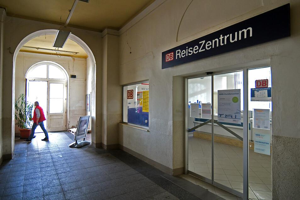 Die DB-Agentur im Hauptbahnhof wird am Montag als Kundencenter der Mitteldeutschen Regiobahn wiedereröffnet.