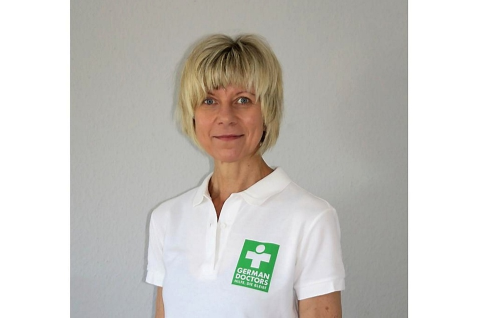 Dr. Silke Lindner wird von August bis Oktober im Einsatz sein.