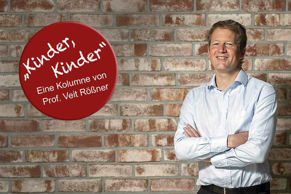 Kinder- und Jugendpsychiater Prof. Dr. med. Veit Rößner vom Uniklinikum Dresden