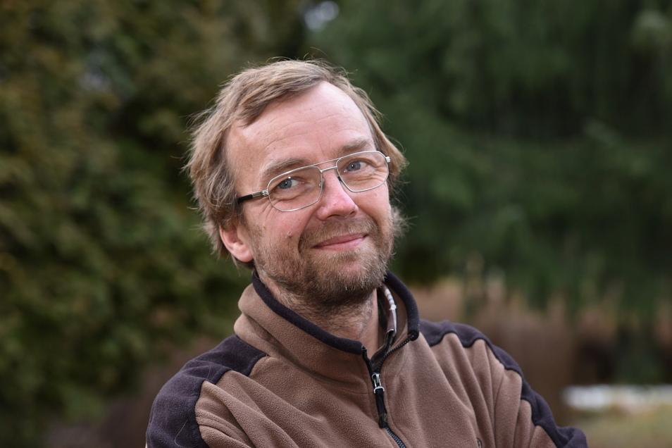 Jens Weber von der Grünen Liga Osterzgebirge lädt am Sonntag zu einer naturkundlichen Wanderung von Bärenstein nach Börnchen ein.