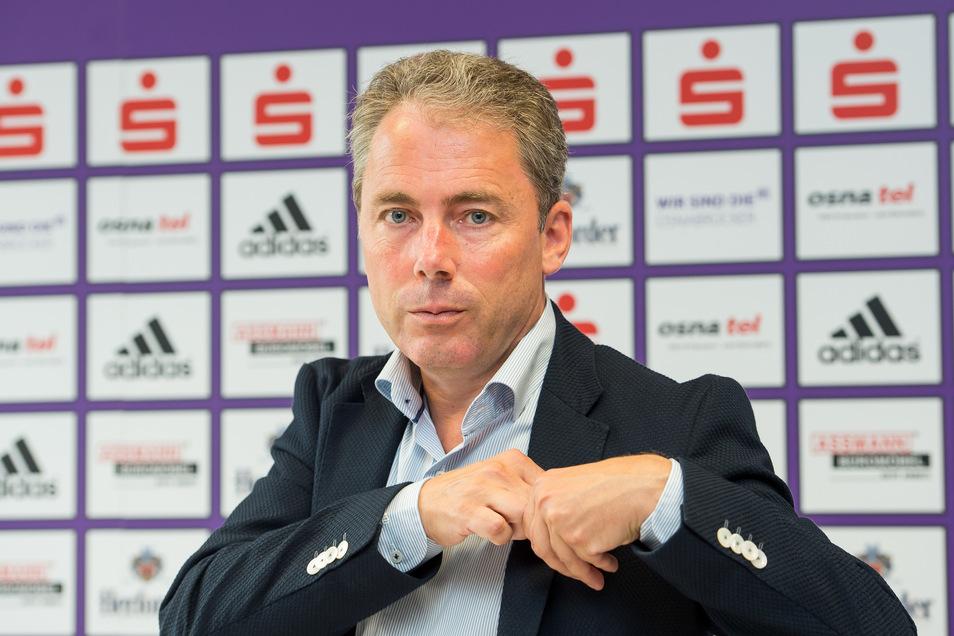 Rund 40 Bewerber gab es auf die Stelle als kaufmännischer Geschäftsführer bei Dynamo. Jürgen Wehlend hat der Aufsichtsrat direkt kontaktiert. Er stand auf der Wunschliste ganz oben.