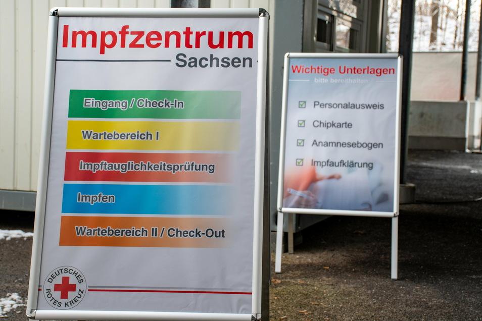 Das Impfzentrum in Mittweida wird am 30. September geschlossen.