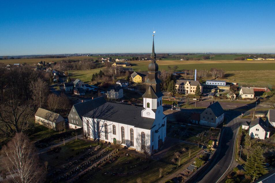 Ungeplant werden am Sonntag auch in der Kirche Grünlichtenberg zwei Gottesdienste angeboten.