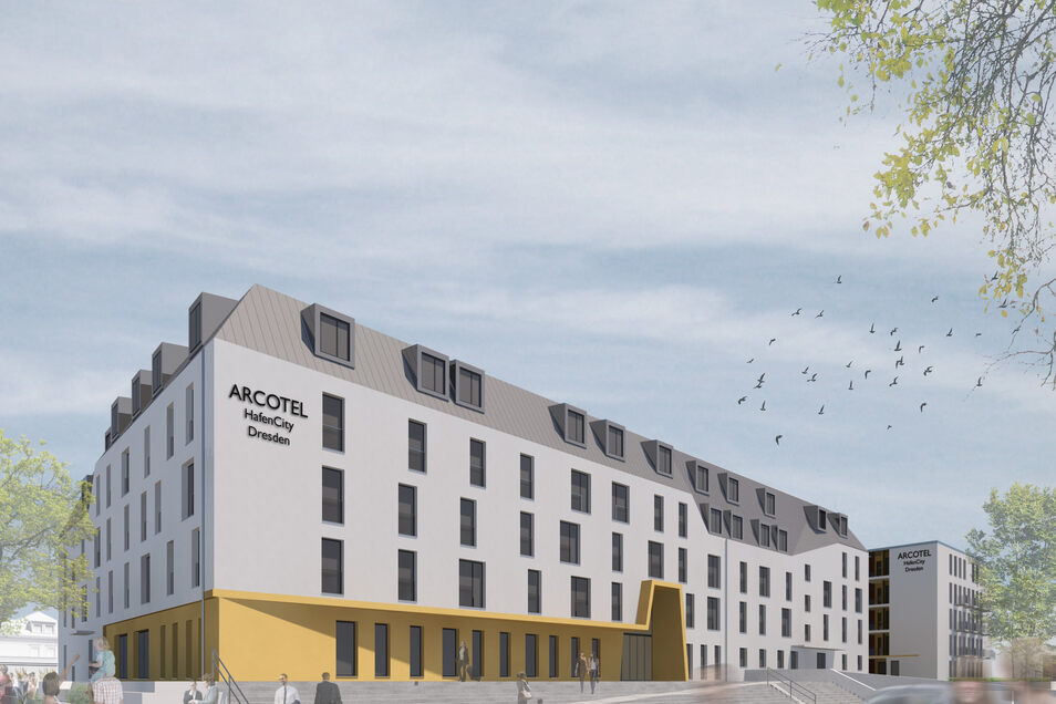 Das Hotel in der Hafencity soll nächsten Sommer eröffnen.