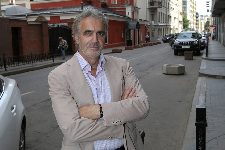 Autor und Journalist Christian Neef ist Russland-Kenner. Er recherchierte und veröffentlichte die Geschichte von Oskar Böhme.