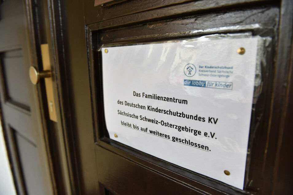 Auch der Treff des Kinderschutzbundes in Dippoldiswalde ist derzeit geschlossen.