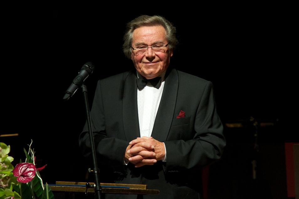 Bescheiden und stets ein Humanist: Peter Schreier – hier 2011, als ihm der Internationale Mendelssohn-Preis verliehen wurde.