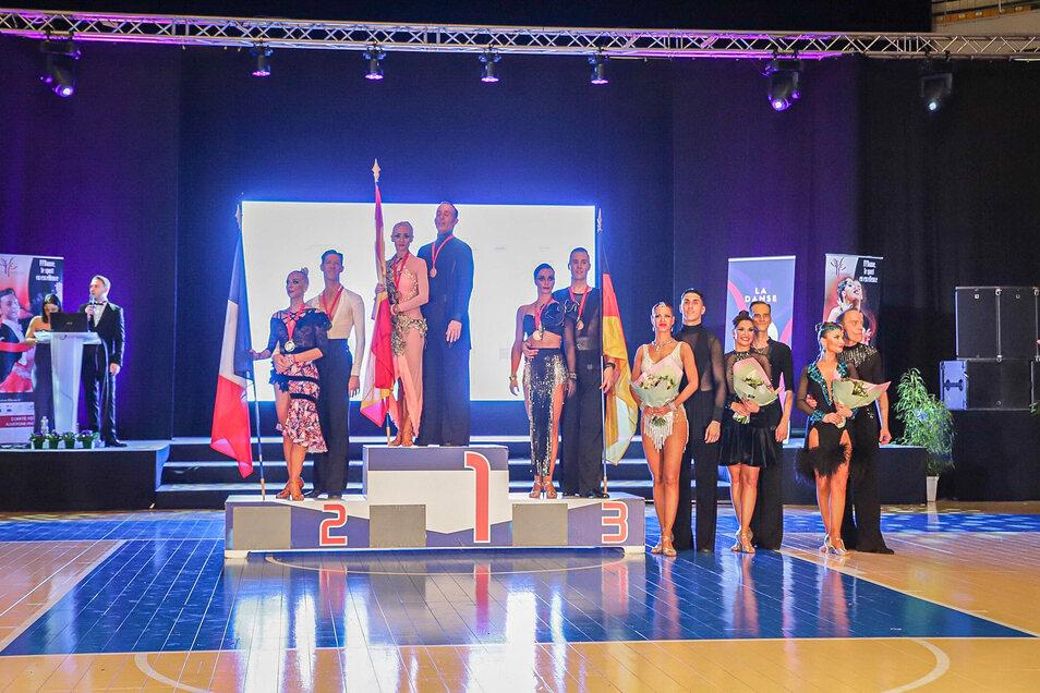 Nach Platz eins im Vorjahr mussten Julia Luckow und Erik Heyden in Lyon den neuen Weltmeister aus Spanien und den zweitplatzieren Franzosen den Vortritt lassen.