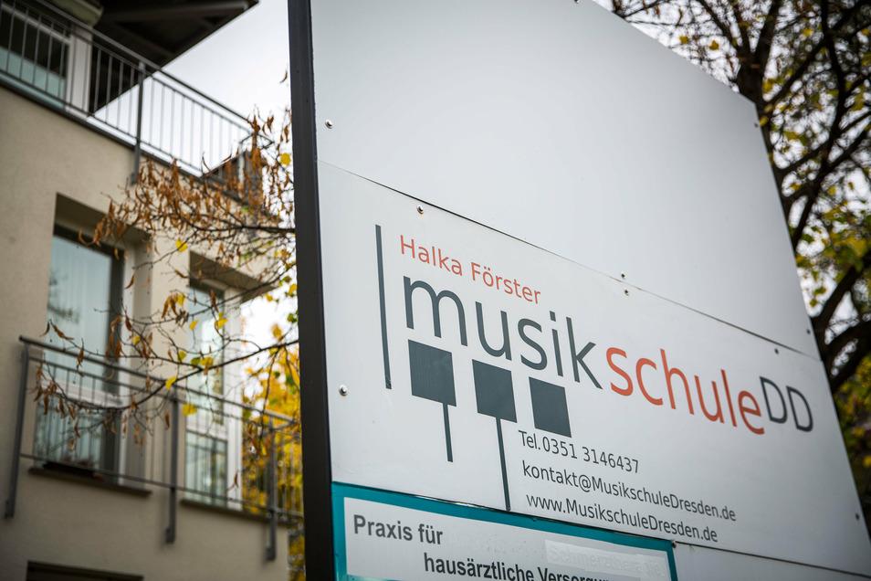 Die Musikschule auf der Tolkewitzer Straße musste schließen. Leiser wird es hier aber nicht werden.