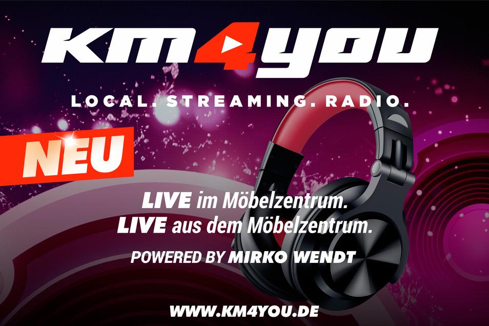 NEU: Sendestudio Kamenz – Einfach Wunschmusik aussuchen oder Freunde grüßen. Vorab online unter www.km4you.de oder direkt im Haus.