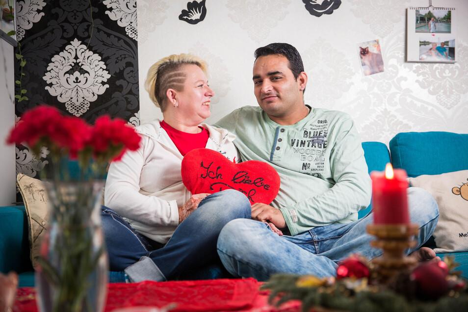 Bedrohtes Glück: Jhanna und Amit Kumar sollen getrennt werden.