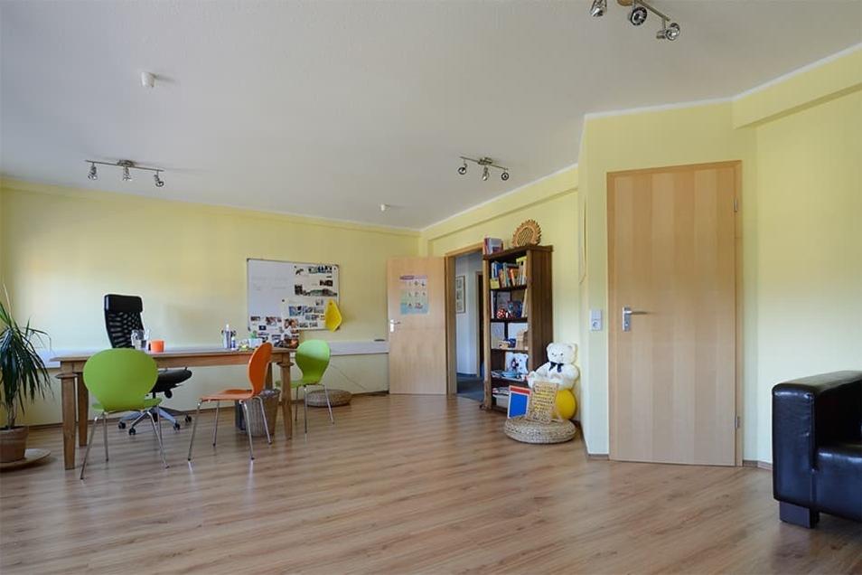 Die hellen Räume sind liebevoll eingerichtet und gestaltet.