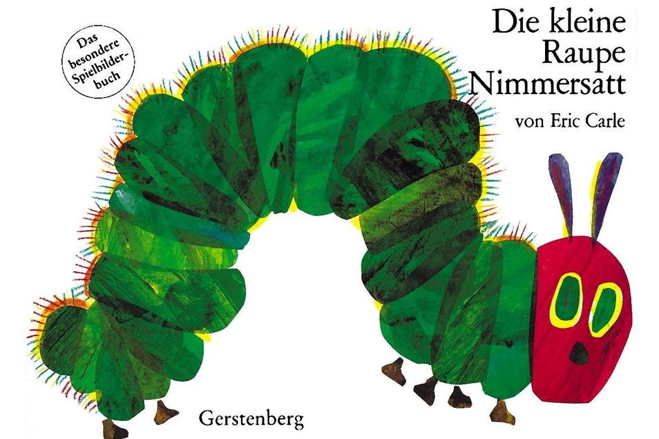 """Durch mehr als 20 Millionen Bände hat sich """"Die kleine Raupe Nimmersatt"""" schon gefressen."""