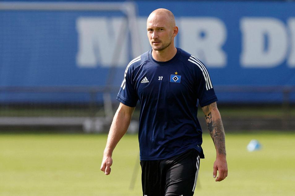 Der Dresdner Toni Leistner steht beim Hamburger SV vor dem Abschied. Kehrt er zu Dynamo zurück?
