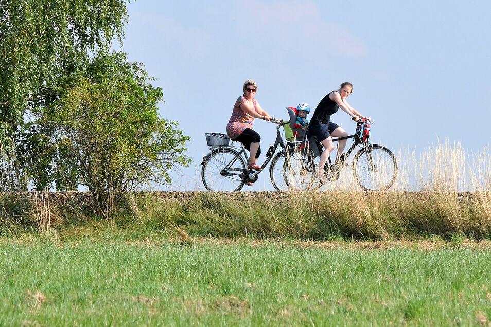 Den Cunewalder Radweg nutzen viele Anwohner als sichere Strecke, aber auch Touristen.