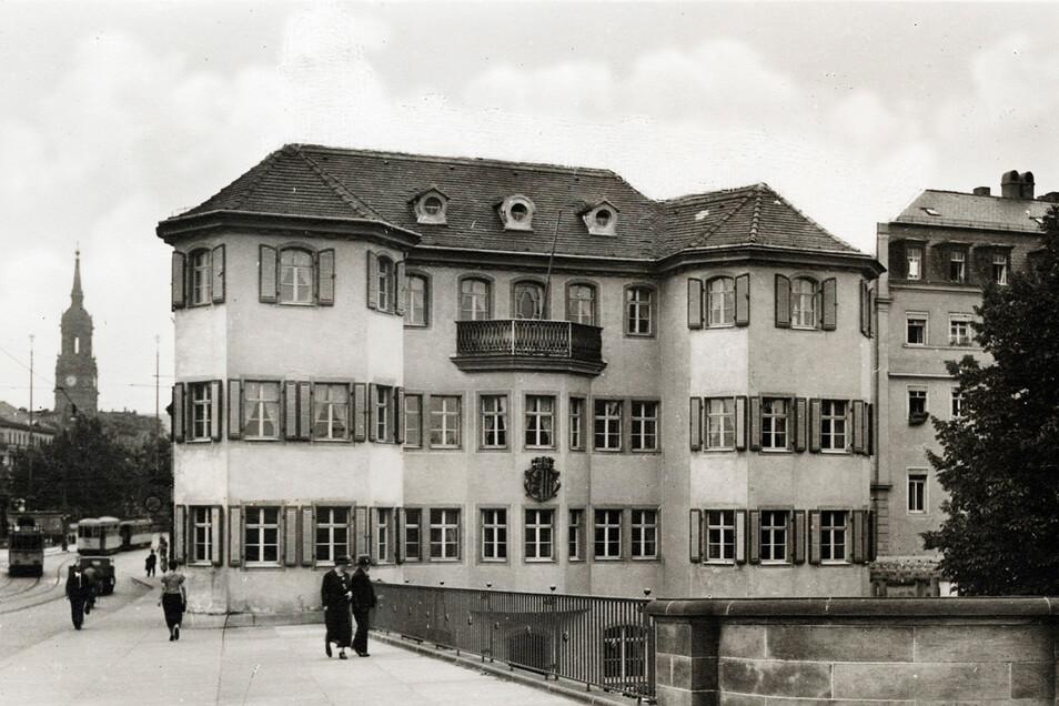 Diese Postkarte zeigt das Narrenhäusel um 1935.