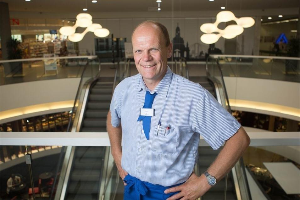 Das Einkaufszentrum am Albertplatz gehört Peter Simmel schon. Jetzt zieht es den 57-Jährigen in die Altstadt.