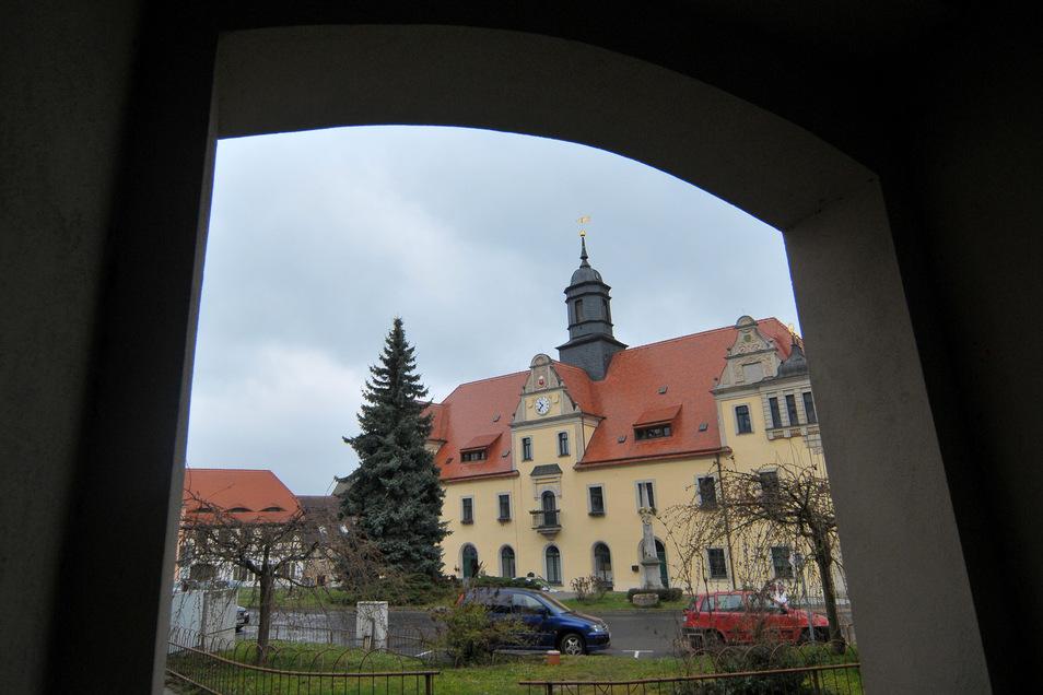 Rathaus Lommatzsch.
