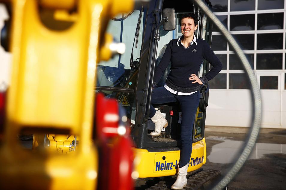 Bauunternehmerin Janet Lange geht ungewöhnliche Wege, um Nachwuchs für die Ausbildung zu begeistern. Damit ist sie erfolgreich.