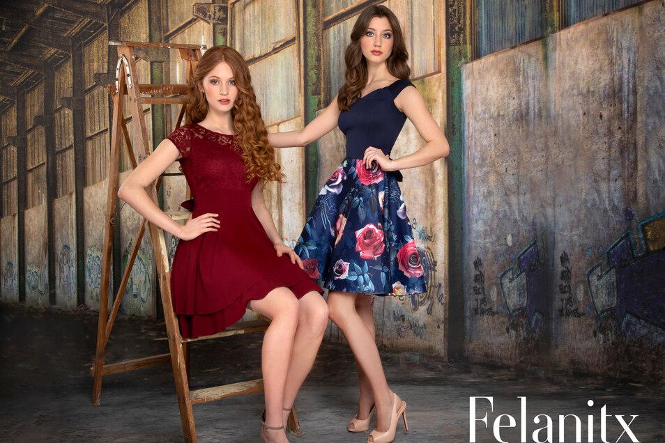 Sowohl festliche Kleider als auch Anzüge bietet das Modehaus Haase.