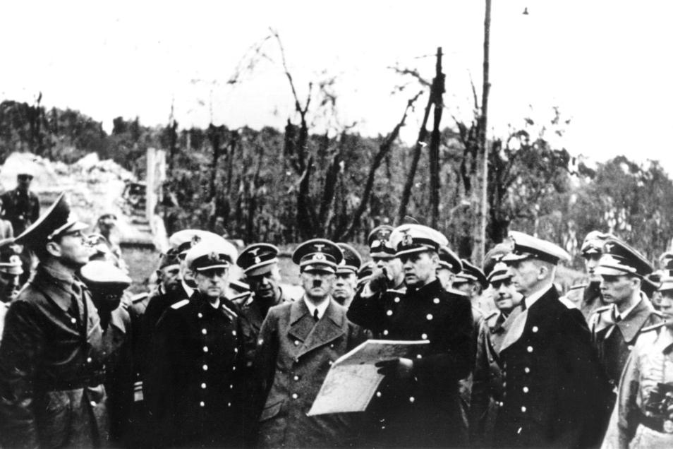 Die polnische Westerplatte war das Ziel der ersten Granaten im Krieg. Erst nach Wochen ergaben sich die Verteidiger der deutschen Wehrmacht.
