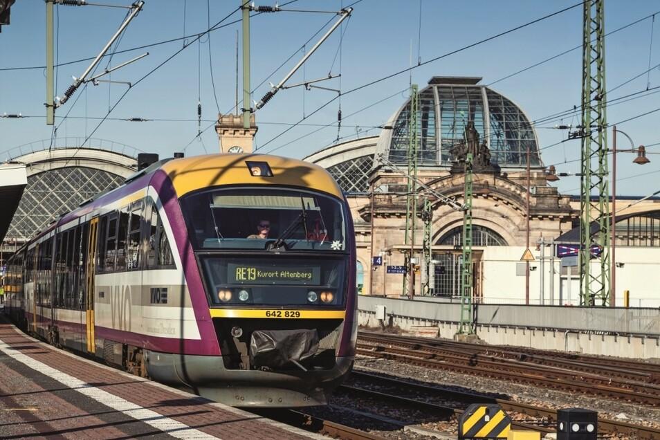 Der Saxonia-Express wird am Wochenende von Dresden in die Sächsische Schweiz starten.