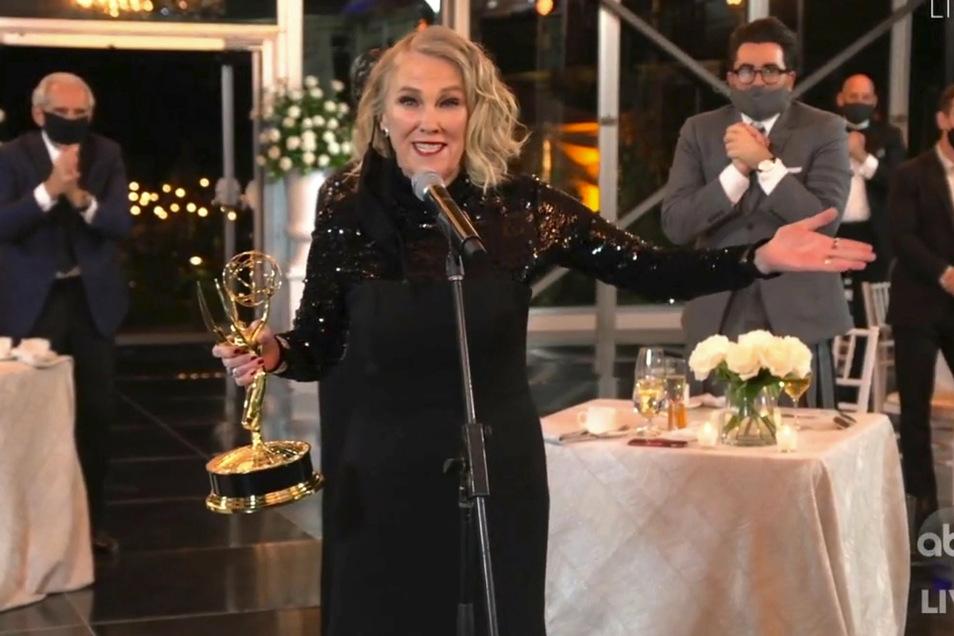 Beste weibliche Comedy-Darstellerin wird Catherine O'Hara.