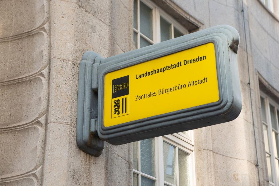 Spontan ins Bürgerbüro - das ist in Dresden derzeit nicht möglich. Und das wird wohl auch so bleiben.