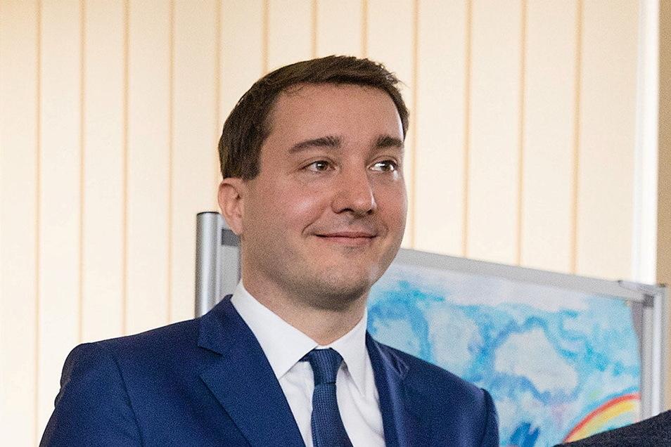 Bleibt den Eislöwen als Sponsor im Nachwuchs erhalten: Marian Ziburske, Geschäftsführer der Westminster Unternehmensgruppe.