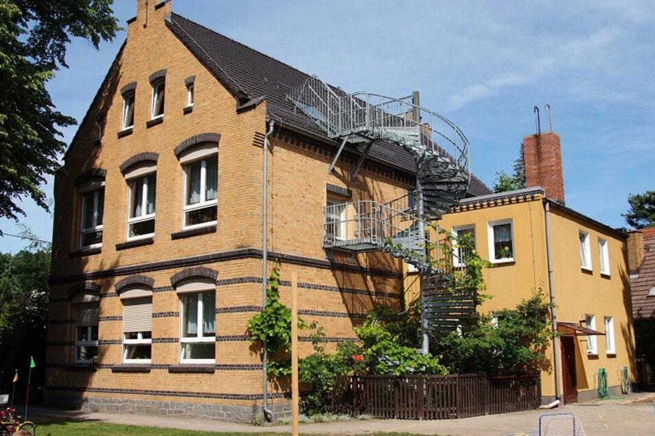 """Die Kita """"Märchenland"""" in Lohsa ist in einem denkmalgeschützten Haus untergebracht."""