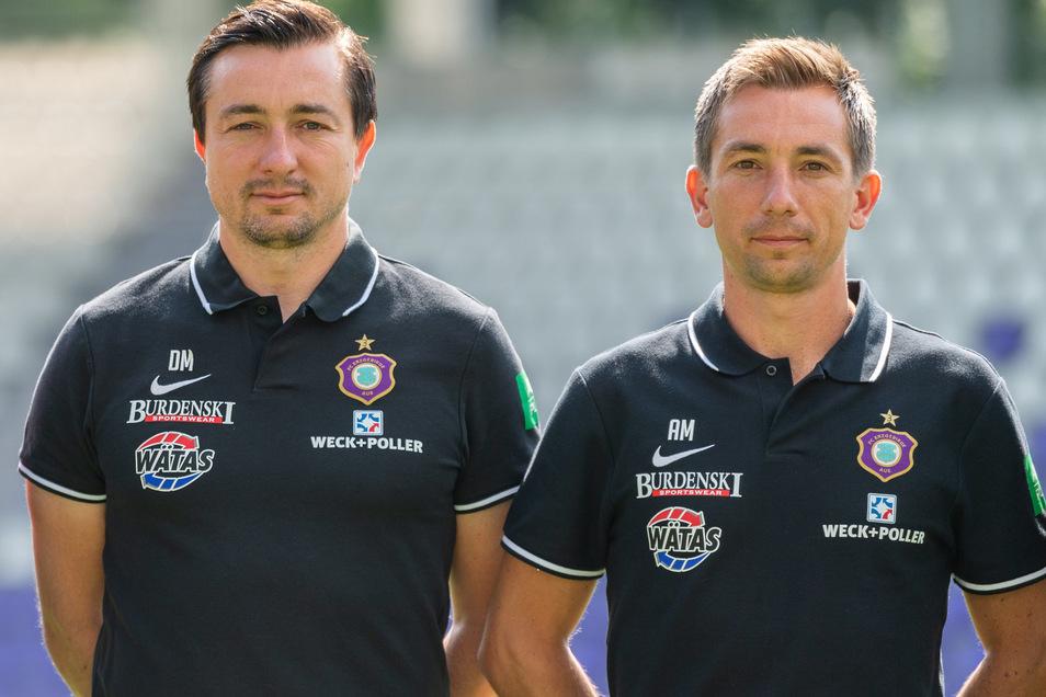 Trainer Daniel Meyer (links) sowie sein Assistent und Bruder Andre Meyer sind gefeuert worden.