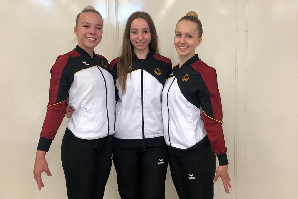 Die Riesaer Aerobic-Sportlerinnen Leona Göhler und Tessa Neumann fahren jetzt an die Adria. Begleitet werden sie von Trainerin Katharina Fleck.