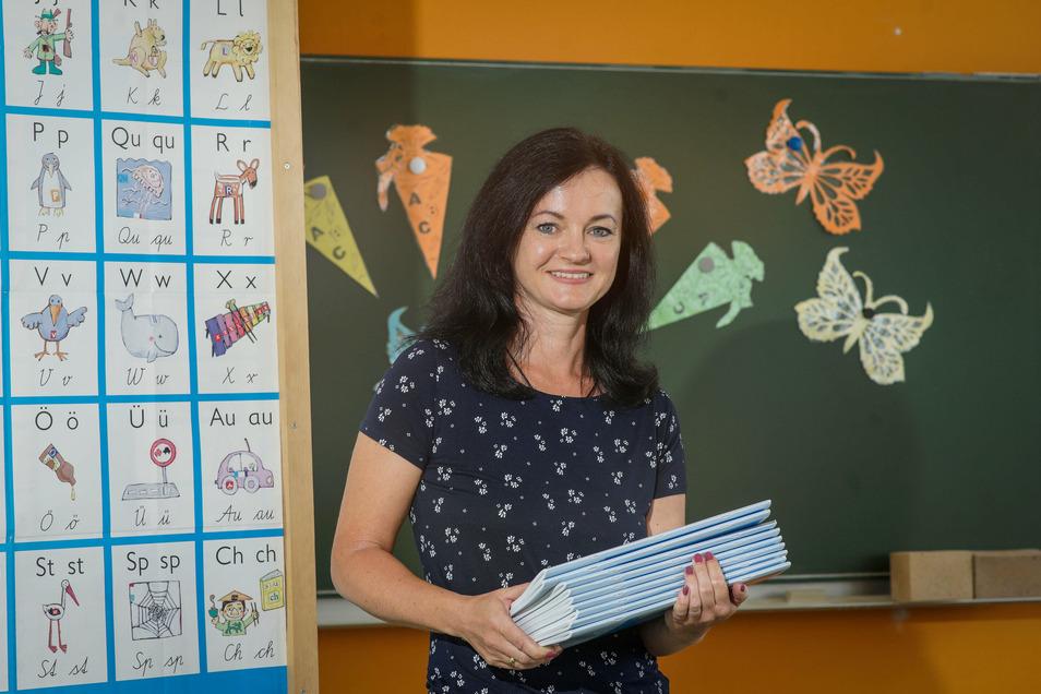 Peggy Rosenkranz ist die neue Leiterin der Grundschule Goldbach. Sie freut sich auf die Arbeit in einem kleinen, aber sehr motivierten Team.