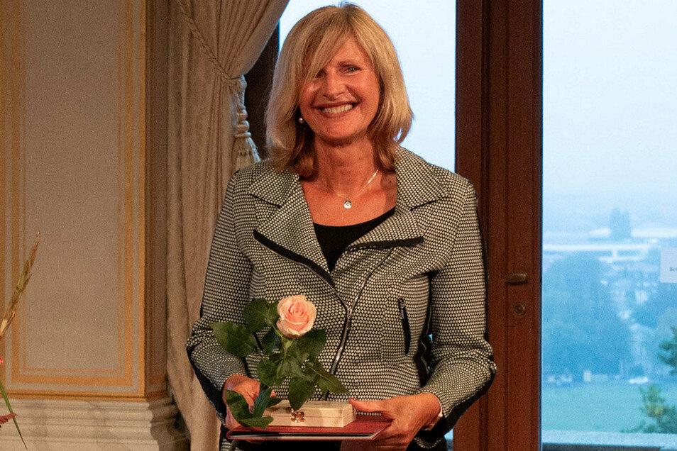 Anne Katrin Koch ist die Geschäftsführerin des Netzwerk Mittweida. Jenes betreibt unter anderem die Tafel in Döbeln.