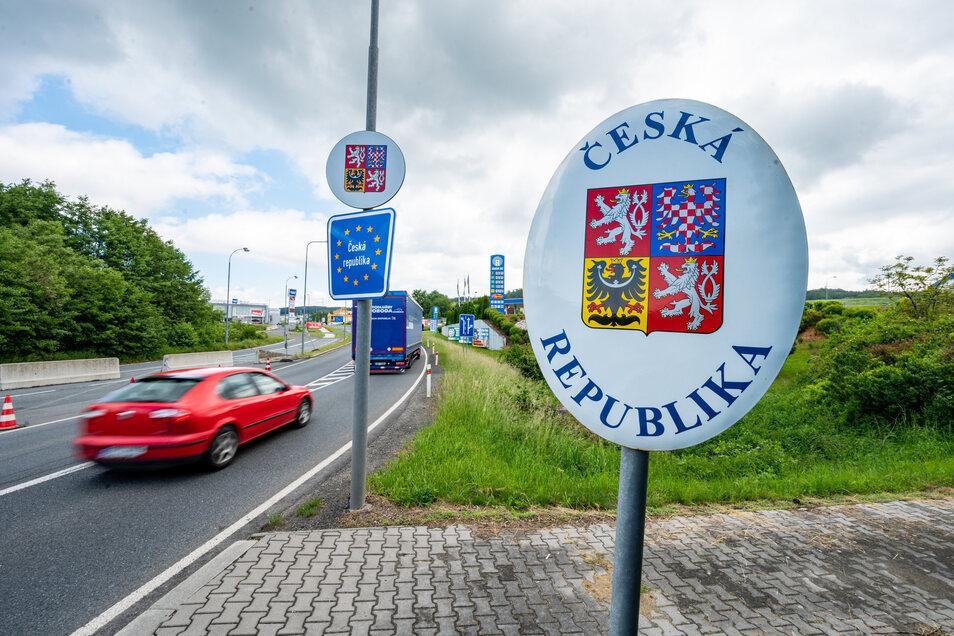 Ab sofort kann man die Grenze zu Tschechien wieder ohne Kontrolle passieren.