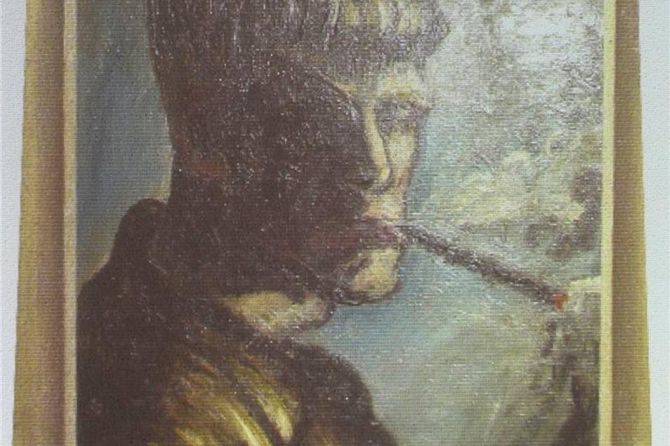 """Otto Dix: Der junge Otto Dix mit Pagenpony, Strubbelfrisur und langer Zigarette gibt den Kunsthistorikern eine Nuss zu knacken. Das Gemälde ist im Werkverzeichnis nicht zu finden. Dass es 1919 entstanden sein soll, zweifelt der Geraer Dix-Experte Holger Peter Saupe an: """"Ich vermute, es entstand um 1913/14. Das jugendliche Selbstporträt passt in seine Arbeitsweise jener Zeit. Nach dem Ersten Weltkrieg malte er anders und bevorzugte andere Motive."""""""
