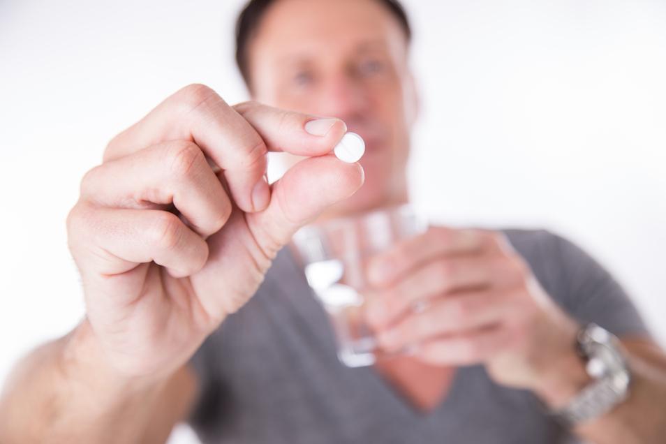Antibiotika wirken nur gegen Bakterien.