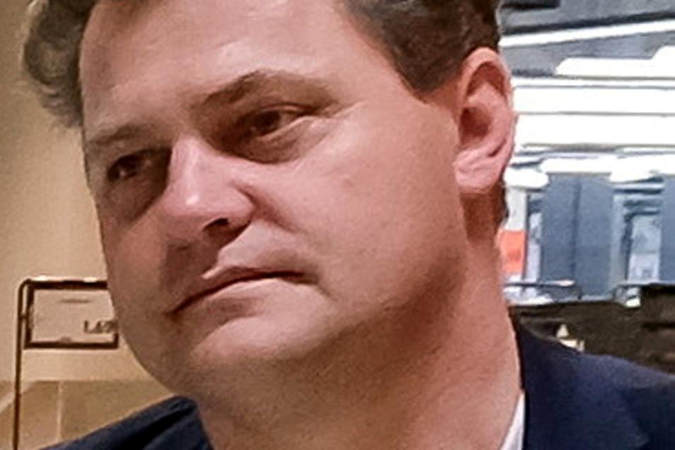 Thomas Schubert war Finanzbürgermeister von Coswig, bevor er 2019 die Wahl zum Bürgermeister der Stadt gewann.