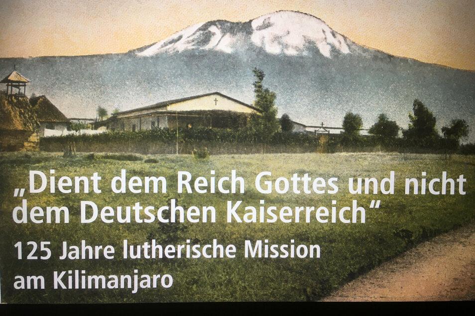 Plakat zur Ausstellung, die am Mittwochnachmittag um 15 Uhr in der Marienkirche eröffnet wird.