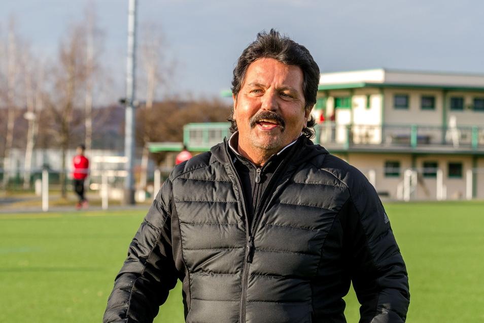 Bodo Kleinschmidt ist der zweite Trainer beim SV Bannewitz.