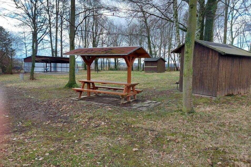 Für die Umgestaltung des Parks in Grünlichtenberg bekommt die Gemeinde 100.000 Euro Fördergeld.