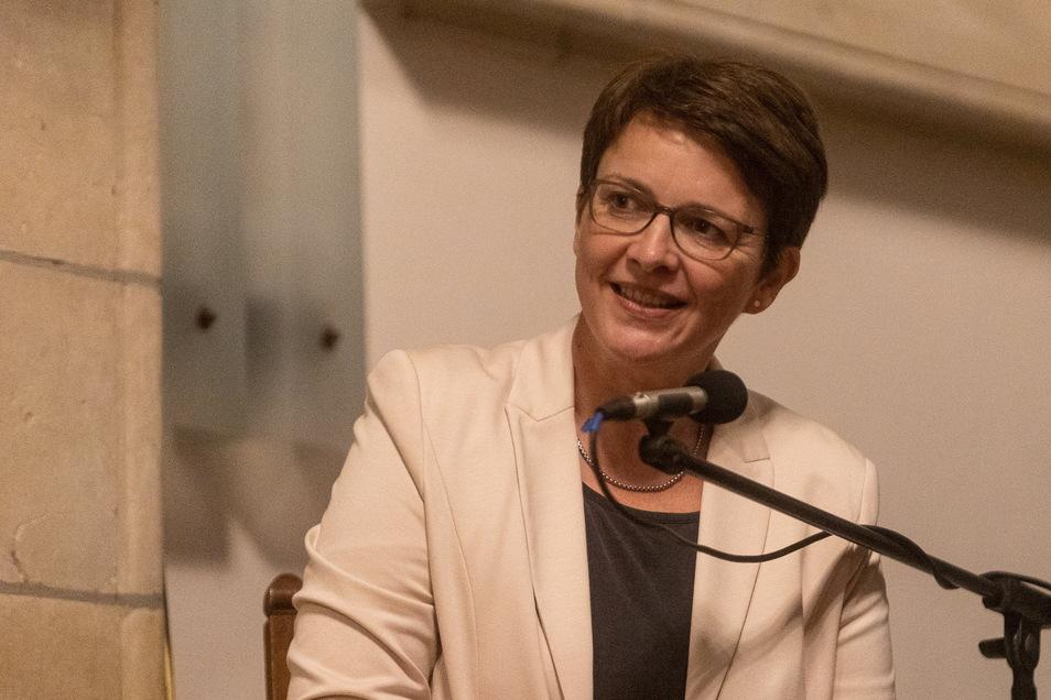 Silke Müller (FDP) bereicherte die Runde zweifellos, ist aber im Landkreis nicht wählbar.