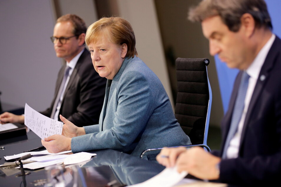 Für diesen Mittwoch ist erneut eine Konferenz mit Bundeskanzlerin Angela Merkel (CDU) und den Ministerpräsidentinnen und -präsidenten der Länder geplant.