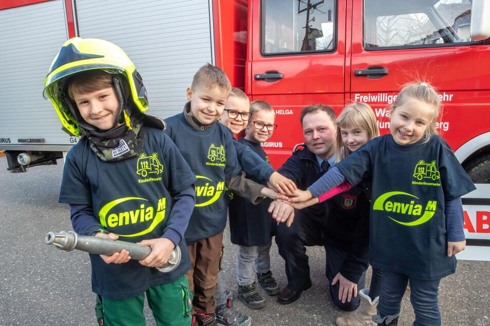 Im Februar vergangenen Jahres wurde die in Meinsberg eine Kinderfeuerwehr gegründet. Durch Corona konnten sich die Kinder jedoch bisher kaum treffen.