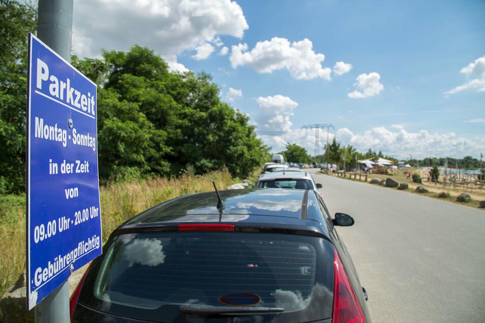 Parken: Eins der großen Themen am Berzdorfer See - und große Herausforderung für die Stadt Görlitz.