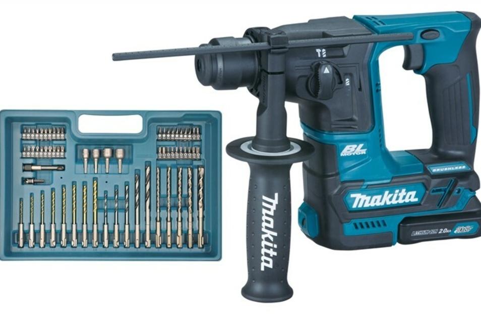 Akku- Bohrhammer von MAKITA im Wert von 308,21€